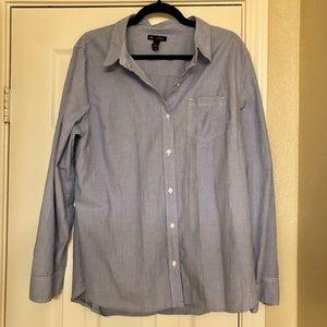 Gap Stripped Button Down Shirt